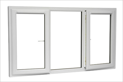 Double Glazed Window with 2 openings