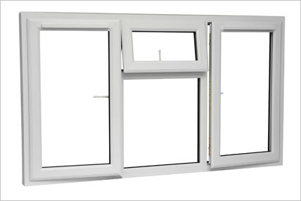 UPVC Windows with 4 openings